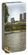 Rowing In Central Park Portable Battery Charger