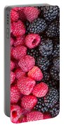 Rows Of  Berries  Portable Battery Charger