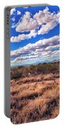 Rows Of Clouds Over Sonoran Desert Portable Battery Charger