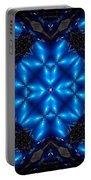 Royal Blue Portable Battery Charger