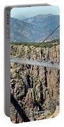 Royal Gorge Bridge In Summer Portable Battery Charger