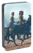Royal Horse Artillery Painted Portable Battery Charger