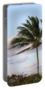 Royal Palm Tree Portable Battery Charger