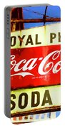 Royal Phcy Coke Sign Portable Battery Charger