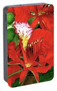 Royal Poinciana Portable Battery Charger