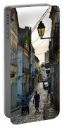 Alley At Dusk - Bahia, Brazil Portable Battery Charger