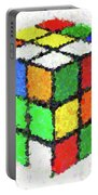 Rubiks Portable Battery Charger
