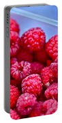 Ruby Raspberries Portable Battery Charger