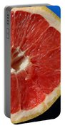 Ruby Red Grapefruit Portable Battery Charger