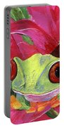 Ruby The Red Eyed Tree Frog Portable Battery Charger