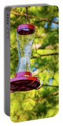 Ruby-throated Hummingbird 3 Portable Battery Charger