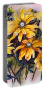 Rudbeckia  Prairie Sun Portable Battery Charger