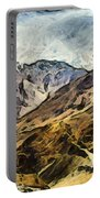Rugged Mountains Of North India Portable Battery Charger