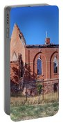 Ruined Church In Rural Utah Portable Battery Charger