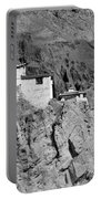Ruins And Basgo Monastery Surrounded With Stones And Rocks Ladakh Portable Battery Charger