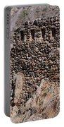 Ruins At The Ollantaytambo Site Portable Battery Charger