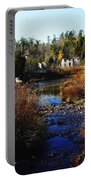 Ruins In Autumn Portable Battery Charger
