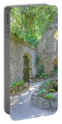 Ruins Of Chapel Sintra Portable Battery Charger