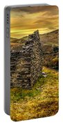 Ruins Of Snowdonia Panorama Portable Battery Charger