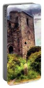 Ruins Of The Old Tin Mine Portable Battery Charger