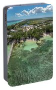 Rum Point Beach Panoramic Portable Battery Charger