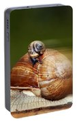 Runaway Snail Portable Battery Charger
