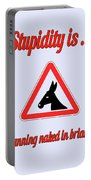 Running Bigstock Donkey 171252860 Portable Battery Charger