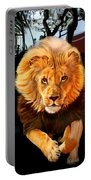 Running Lion Portable Battery Charger