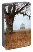 Rural Farmhouse And Large Tree Portable Battery Charger