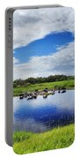 Rural Landscape Portable Battery Charger