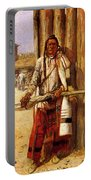 Russell Charles Marion Buffalo Coat Portable Battery Charger