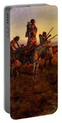 Russell Charles Marion In The Wake Of The Buffalo Hunters Portable Battery Charger
