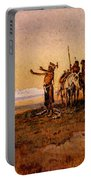 Russell Charles Marion Invocation To The Sun Portable Battery Charger