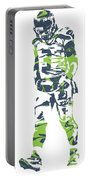 Russell Wilson Seattle Seahawks Pixel Art 11 Portable Battery Charger