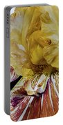 Russet And Umber Iris Portable Battery Charger