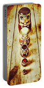 Russian Doll Art Portable Battery Charger