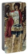 Russian Icons: Michael Portable Battery Charger