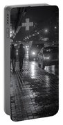 Russian Street Scene At Night 2015 Portable Battery Charger