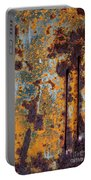 Rust Abstract Car Part Portable Battery Charger