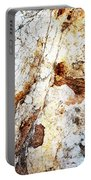 Rust Colored Limestone Rock Portable Battery Charger