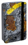 Rust On The Railroad Bridge Portable Battery Charger