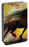 Rust Unicorn Portable Battery Charger