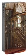 Rustem Pasha Mosque Interior Portable Battery Charger