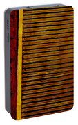 Rustic Abstract One Portable Battery Charger
