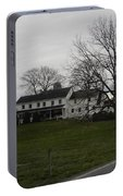 Rustic Amish Farmstead Portable Battery Charger