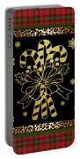 Rustic Christmas-jp3698 Portable Battery Charger