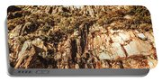 Rustic Cliff Spring Portable Battery Charger