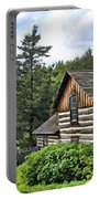 Rustic Farmhouse At Old World Wisconsin Portable Battery Charger