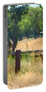 Rustic Painting Portable Battery Charger