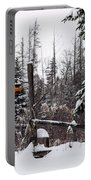 Rustic Property Marker Portable Battery Charger